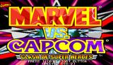 Marvel vs. Capcom: Clash of Super Heroes Arcade Title screen