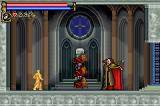 Castlevania: Circle of the Moon Game Boy Advance Fighting Dracula (1st form)