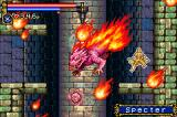 Castlevania: Circle of the Moon Game Boy Advance Salamander summon