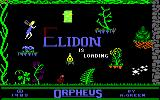 Elidon Amstrad CPC Loading screen
