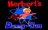 Herbert's Dummy Run Amstrad CPC Loading Screen.