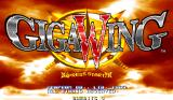 Giga Wing Arcade Title screen