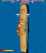 1943: The Battle of Midway Arcade Your ship under attack.