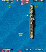 1943: The Battle of Midway Arcade Destroy the ship.