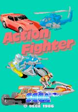 Action Fighter Arcade Title Screen.