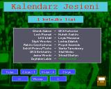 Liga Polska Manager '95 Amiga Matches schedule