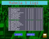 Liga Polska Manager '95 Amiga League table
