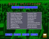 Liga Polska Manager '95 Amiga Top scorers table