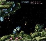 Axelay SNES Larger ships, too