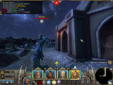Might & Magic X: Legacy Windows Fighting a fearsome Kenshi at night