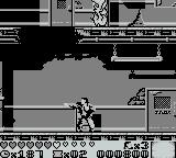 Last Action Hero Game Boy punching the air