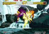 Garou: Mark of the Wolves Arcade Gato has trouble
