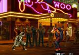 Garou: Mark of the Wolves Arcade Enter with smoke