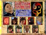 Way of the Warrior 3DO Select Your Fighter