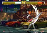 Garou: Mark of the Wolves Arcade He can fast kick too.