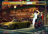Garou: Mark of the Wolves Arcade Spinning kick attack