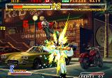 Garou: Mark of the Wolves Arcade This attack effect is great