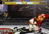 Garou: Mark of the Wolves Arcade Fight on ring