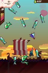 Ridiculous Fishing Android As the fish fly into the air, it is time to grab a gun.