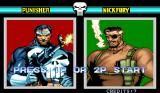 The Punisher Arcade Select character