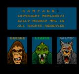 Rampage Arcade Choose your beast
