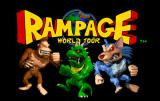 Rampage World Tour Arcade Title screen