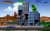 Rampage World Tour Arcade 3-player action