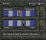 Secret of Evermore SNES Character Actions In-Game Menu