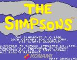 The Simpsons Arcade Game title