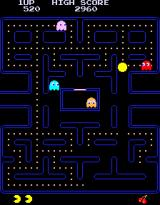 Pac-Man Arcade Game starts
