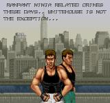 Bad Dudes Arcade The Story.