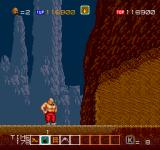 Karnov Arcade Stage 3: Cave Region (cave entrance)