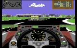Accolade In Action Commodore 64 Grand Prix Circuit
