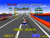 Virtua Racing Arcade Insert Coin.