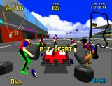 Virtua Racing Arcade Pit Start.