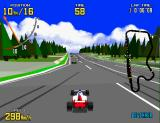 Virtua Racing Arcade Joining the race.