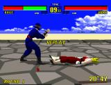 Virtua Fighter Arcade Replay of the K.O.