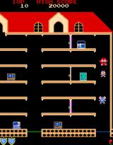 Mappy Arcade Game starts