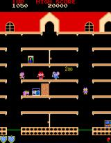 Mappy Arcade Collect radios and paints