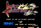Art of Fighting 2 Arcade Title screen