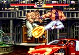 Art of Fighting 2 Arcade Flame kick