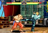 Art of Fighting 2 Arcade Kick in stomach