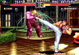 Art of Fighting 2 Arcade Strong kick