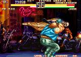 Art of Fighting 2 Arcade Throw in walls