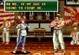 Art of Fighting 2 Arcade Family ties