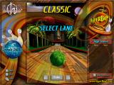 HyperBowl Arcade Edition Windows Classic lane selection screen