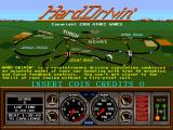 Hard Drivin' Arcade Title Screen.