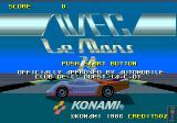 WEC Le Mans Arcade Title Screen.