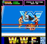 WWF SuperStars Arcade Pin your opponent. Team-Mates will attempt to stop it.