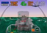 G-Loc Air Battle Arcade Enemy destroyed